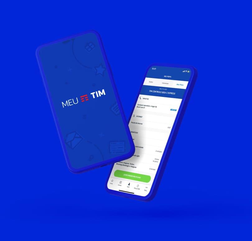 Aplicativo Meu TIM | Consultar Faturas da TIM