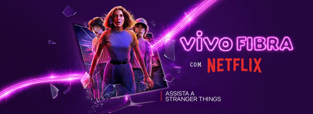 Banner do  post Planos de Internet   Vivo Fibra com Netflix: como funciona?